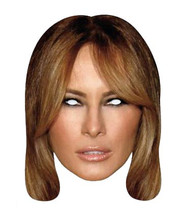 Melania Trump 2D Card Face Mask