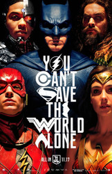 Justice League Original Movie Poster – Unite The League 2nd Advance Style