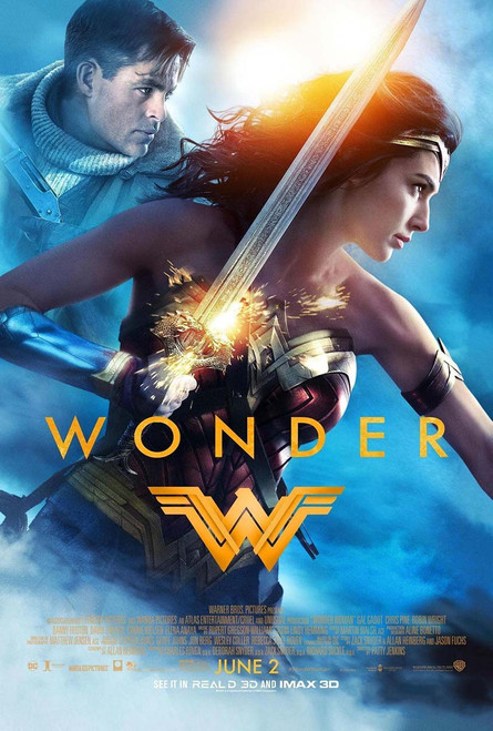 Wonder Woman Original Movie Poster – Wonder Final Style