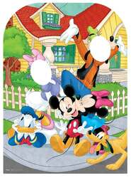 Mickey Mouse and Friends Child Size Stand-in Cutout