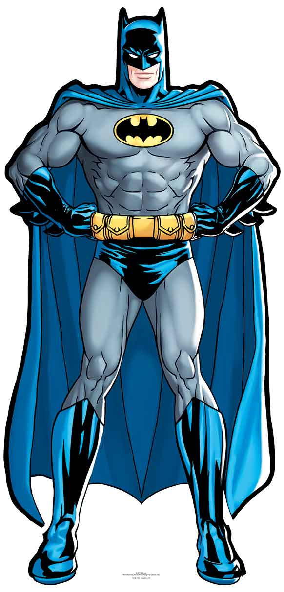 Batman Dc Comics Mini Silueta de Cartón/Vertical | eBay