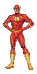 The Flash DC Comics mini Cardboard Cutout