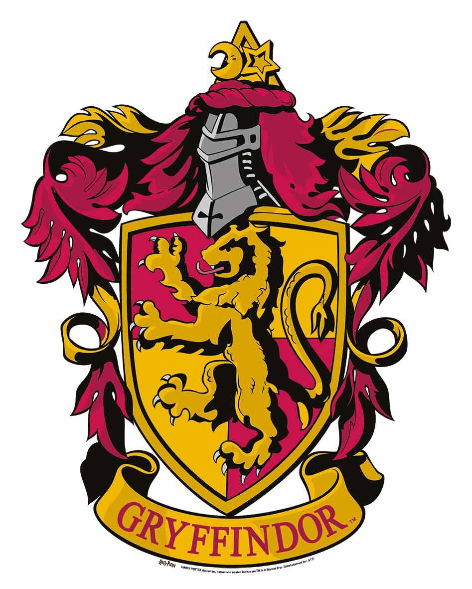 gryffindor crest from harry potter wall mounted official