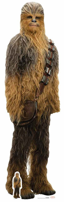 Chewbacca Star Wars The Last Jedi Lifesize Cardboard Cutout