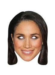 Meghan Markle Single Royal Card Party Face Mask
