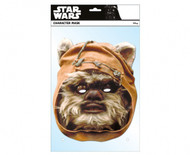 Wicket the Ewok  Single Royal Card Party Face Mask