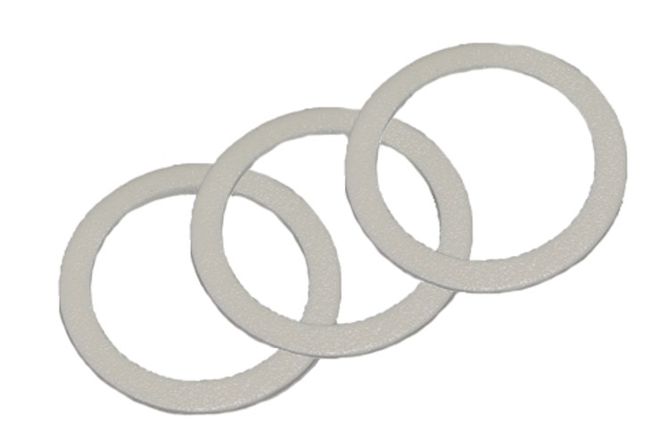 Universal HVLP Gun and Lid Gasket, 3-Pack