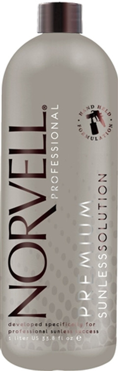 Norvell Amber Sun COCOA Airbrush Spray Tan Solution 34oz