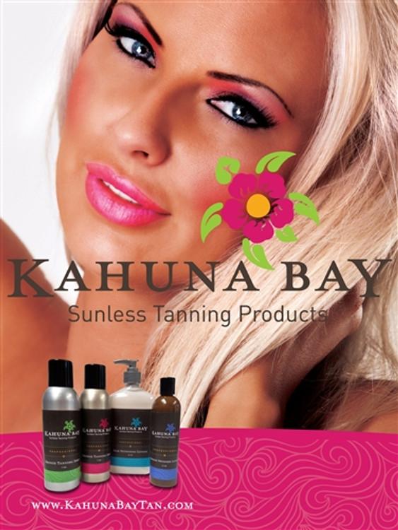 Kahuna Bay Tan 2013 Sunless Tanning Poster
