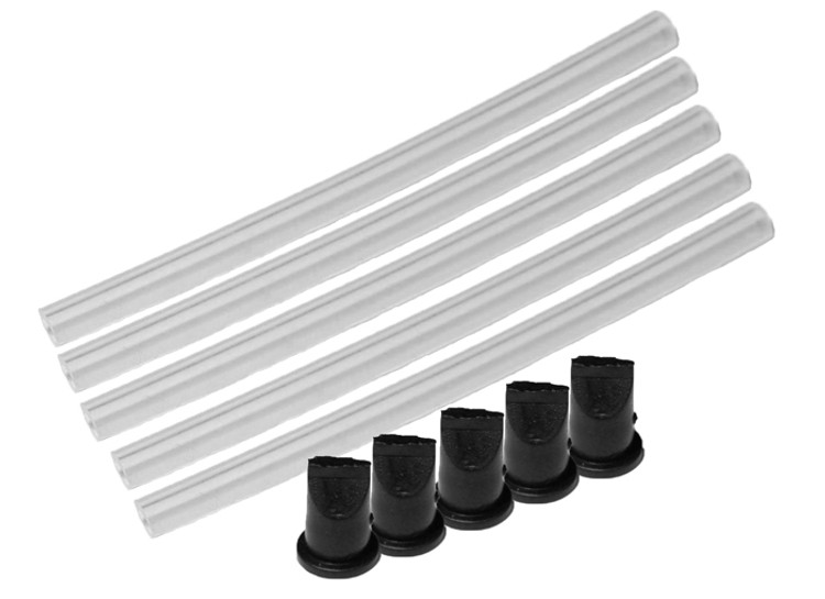 Fuji Pressure tube and duck bill-5 pack
