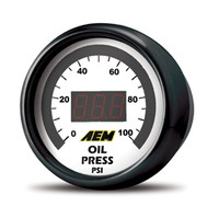 AEM Fuel Pressure Gauge