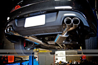 CP-E True Dual Cat-Back Exhaust for 3.8 V6 2010-16 Genesis Coupe
