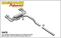 Magnaflow Cat-Back Exhaust for 2.0T 2010-14 Genesis Coupe
