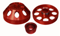 Torque Solution Lightweight Pulley Combo for 3.8 V6 2010-16 Genesis Coupe