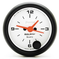 Auto Meter Phantom - Analog Clock