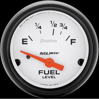 Auto Meter Phantom - Fuel Level Gauge - 16 ohms / 158 ohms