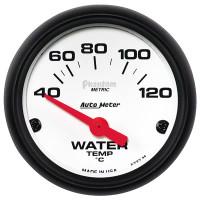 Auto Meter Phantom - Water Temperature Gauge  - CELSIUS (40-120 Degrees)