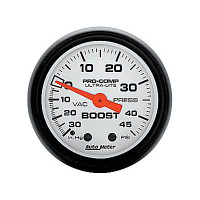 Auto Meter Phantom - Boost Gauge 45 PSI