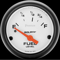 Auto Meter Phantom - Fuel Level Gauge - 73 ohms / 10 ohms