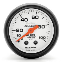 Auto Meter Phantom - Fuel Pressure Gauge - Mechanical