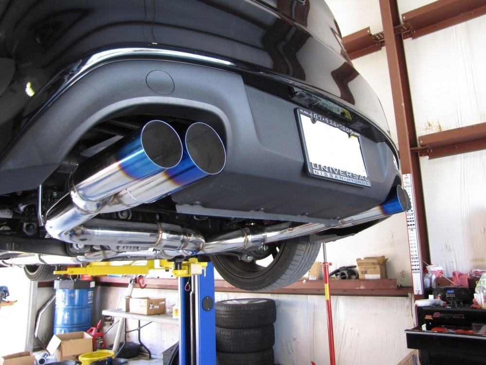 ISR (Formerly ISIS Performance) Race Exhaust   Hyundai Genesis Coupe 3.8L  V6 09+ (IS RCE GEN38)