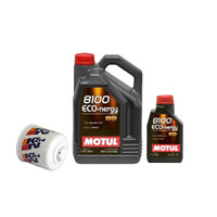 GenRacer Oil Change Package for 2.0T- Motul Oil w/ K&N Filter