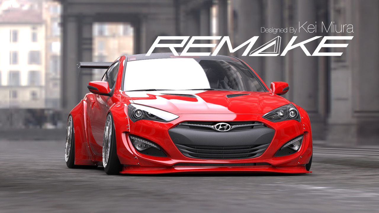 Hyundai Genesis Body Kit For Coupe 2013 15 Models Genracer