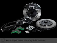 "Ksport Front SuperComp 16.5"" 8 Piston Big Brake Kit for 2010+ Genesis Coupe"