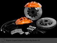 "Ksport Rear SuperComp 16"" 8 Piston Big Brake Kit for 2010+ Genesis Coupe"
