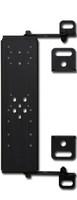 H3R - Universal Fire Extinguisher Seat Mount Black SM01BK