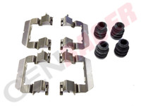 Centric - Front Brake Caliper Hardware Kit for Genesis Coupe - non-brembo