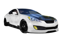 ARK C-FX Fiberglass Hood for Hyundai Genesis Coupe 2010-2012