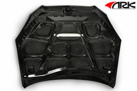 ARK S-FX Carbon Hood for Hyundai Genesis Coupe 2010-2012