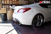 ARK N-II Exhaust System for Hyundai Genesis Coupe 2.0T