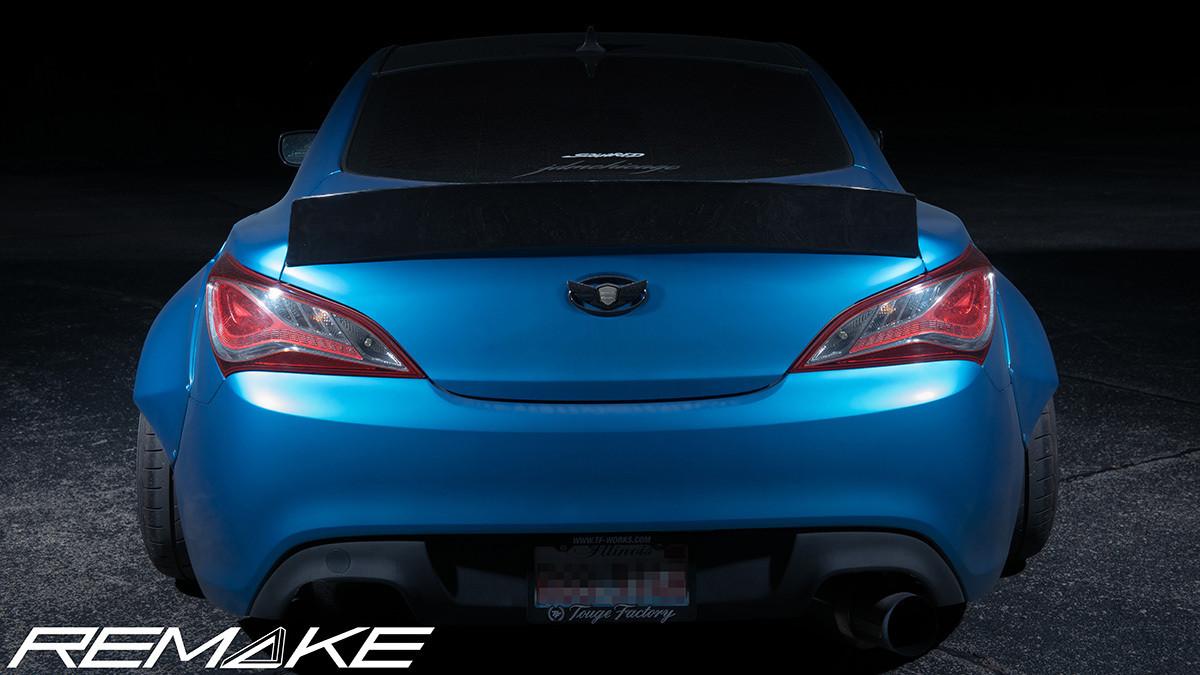 ... Wing For Hyundai Genesis Coupe 2010+. Image 1. Image 1 ...