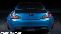 REMAKE Fiberglass Trunk Wing for Hyundai Genesis Coupe 2010+