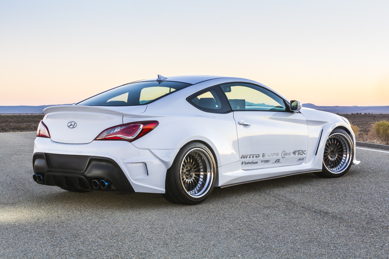 Rk Solus Collection Hyundai Genesis Coupe 2013 Fiberglass