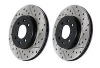 Stoptech Drilled & Slotted Sport Brake Rotor for Sonata / Optima (Rear Left)