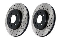 Stoptech Drilled & Slotted Sport Brake Rotor for Sonata / Optima (Front Left)