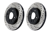 Stoptech Drilled Sport Brake Rotor for Sonata / Optima (Rear Right)