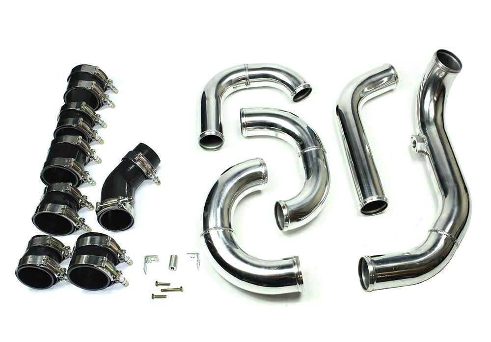 isr performance front mount intercooler kit - hyundai genesis coupe 2 0t - 09-12