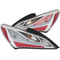 ANZO L.E.D Chrome Taillights for Hyundai Genesis Coupe 10-13 2 DR