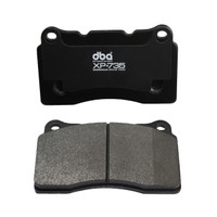 DBA XP+735 Front Circuit Performance Brake Pads for Genesis Coupe 2010-16 (Brembo)
