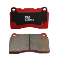DBA XP650 Front Track/Heavy Load Performance Brake Pads for Genesis Coupe 2010-16 (Brembo)