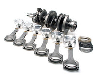 "Brian Crower 3.8L V6 Stroker Kit - 93mm Billet Crank, Sportsman Rods (5.886""), Pistons, Balanced"