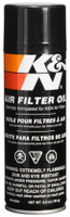 K&N 6.5 OZ Aerosol Spray Air Filter Oil