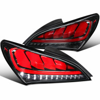 SPEC D TUNING SEQUENTIAL LED TAIL LIGHTS - VARIOUS COLORS HYUNDAI GENESIS COUPE 2010 - 2016