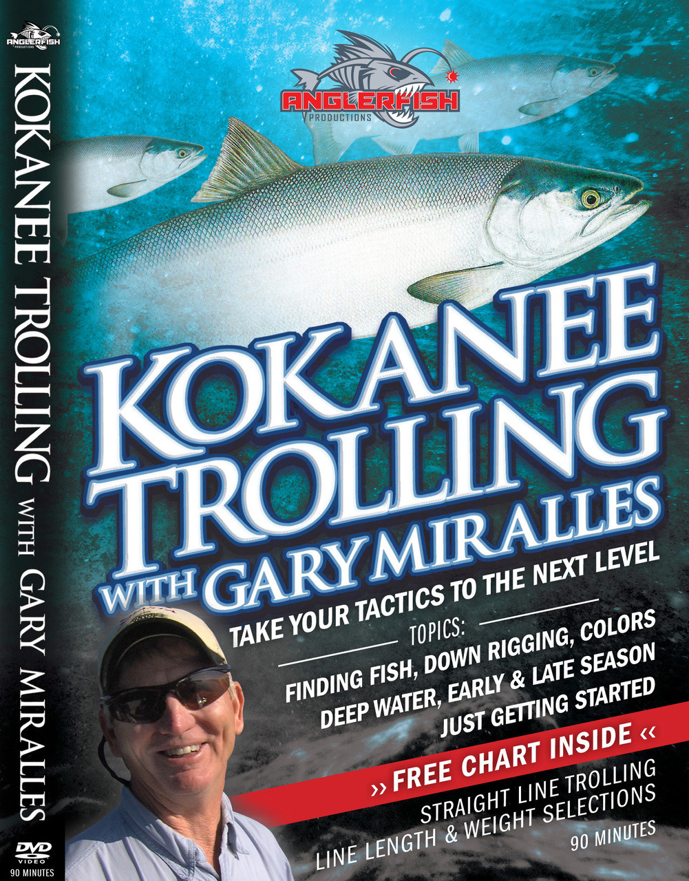 Kokanee Trolling with Gary Miralles - Take Your Tactics to the Next Level