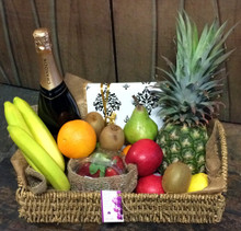 Petite Fruit, Choclates & Wine Hamper