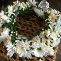 'DIAMOND' FLOWER CROWN - 48hrs notice required/ Pick up Only